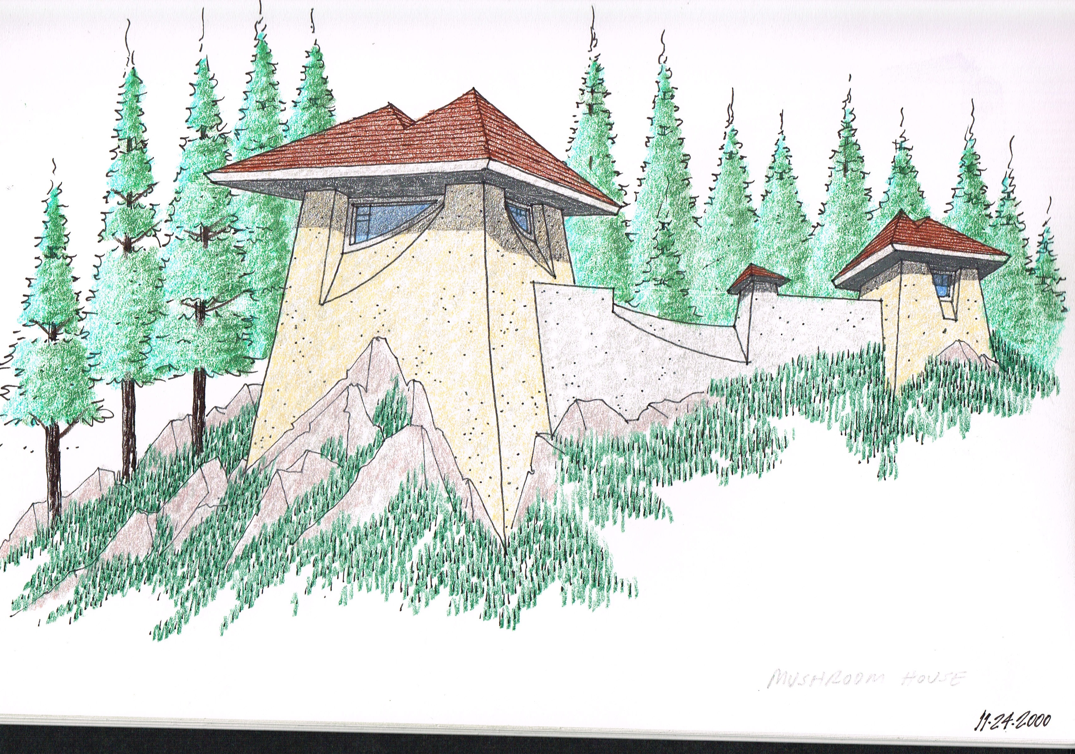 House Concept - Mushroom