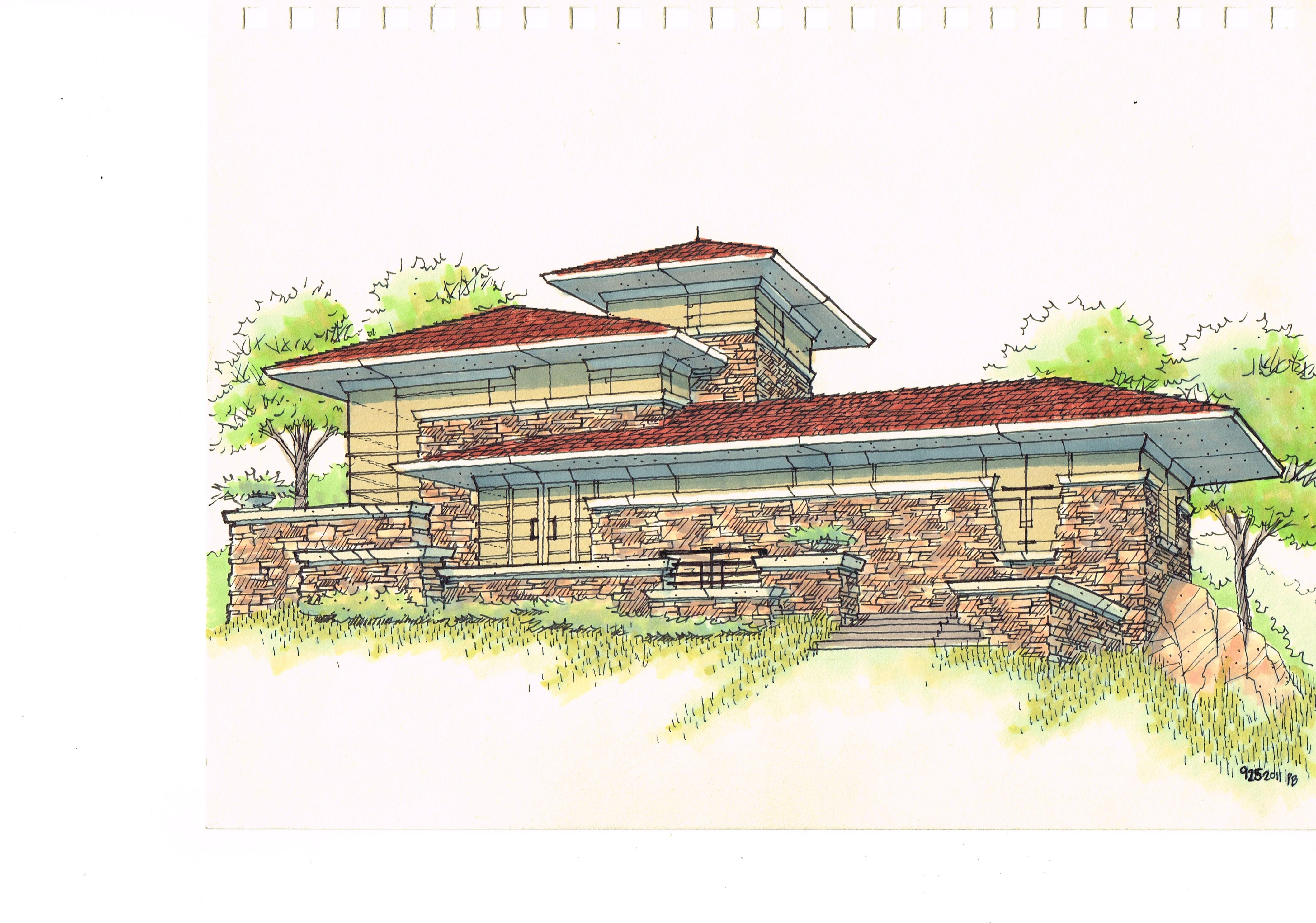 House concept - colorado style