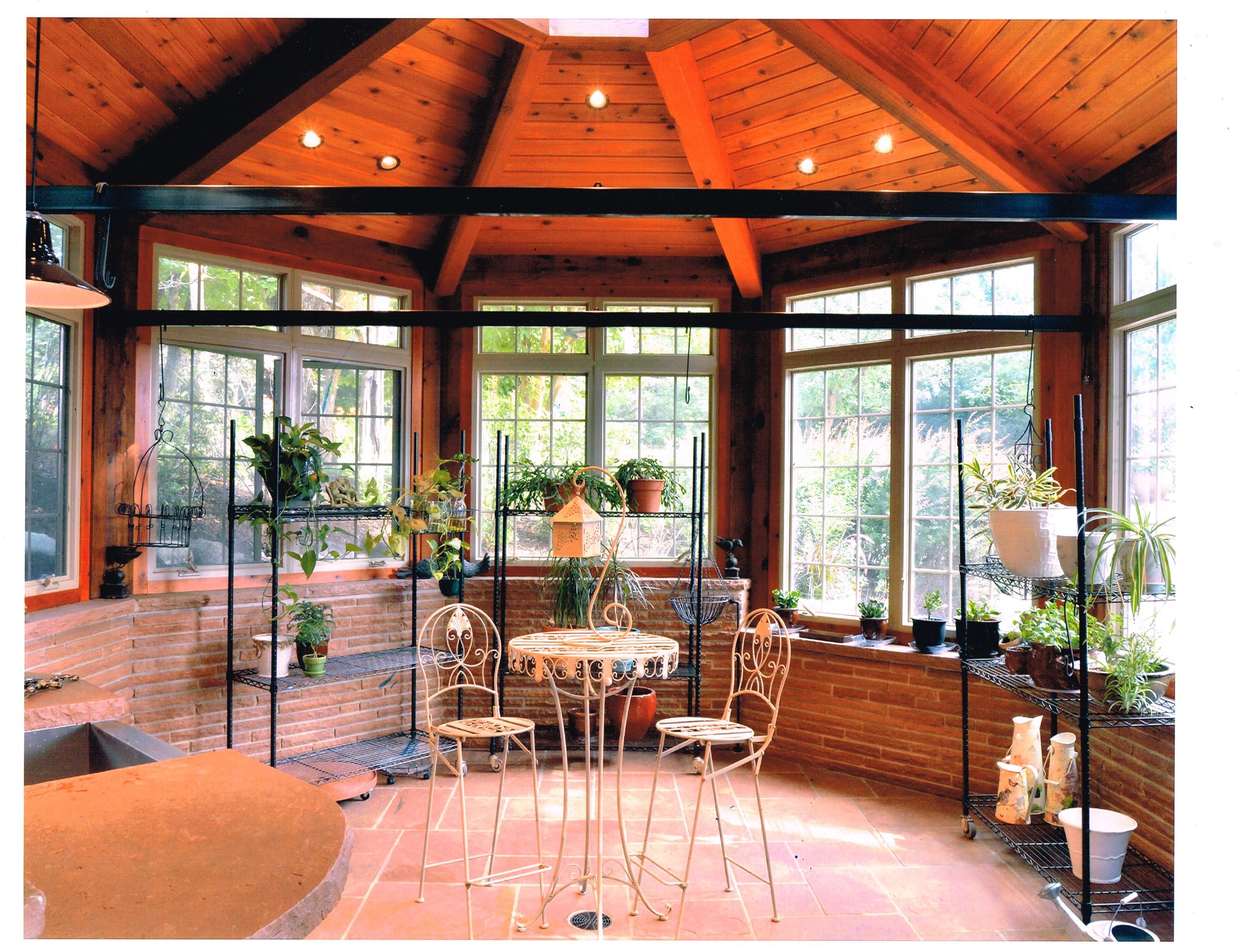 Deevy Conservatory interior